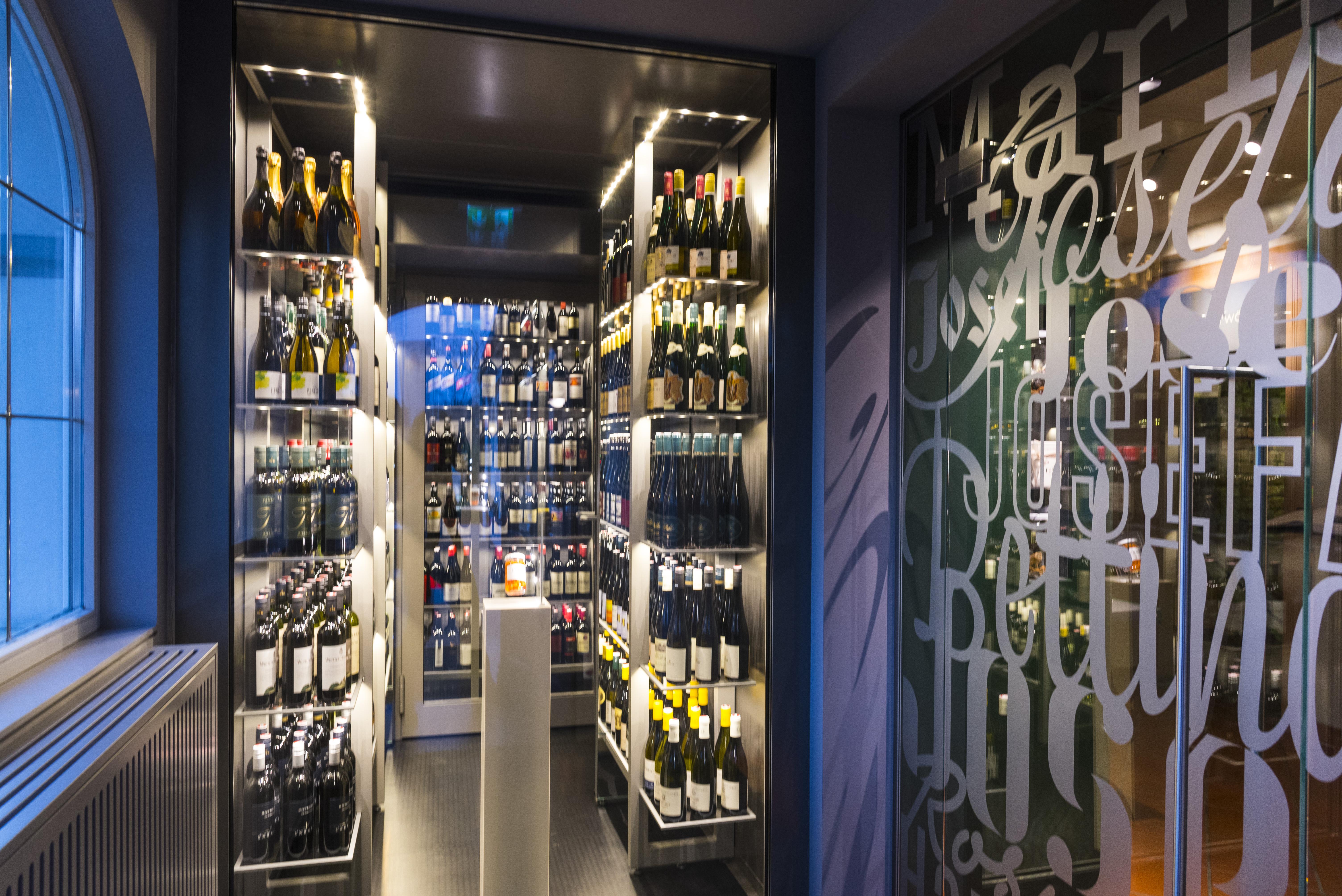 Weinkeller im Gasthaus Haberl